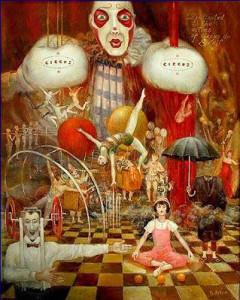 """Circus I 11"""" x 14"""""""