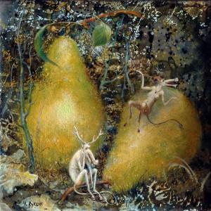 """Little Devils - Garden of Eden 8"""" x 8"""""""