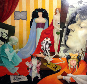 "Tribute to Beardsley 48"" x 60"""